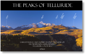The Peaks of Telluride - soft cover