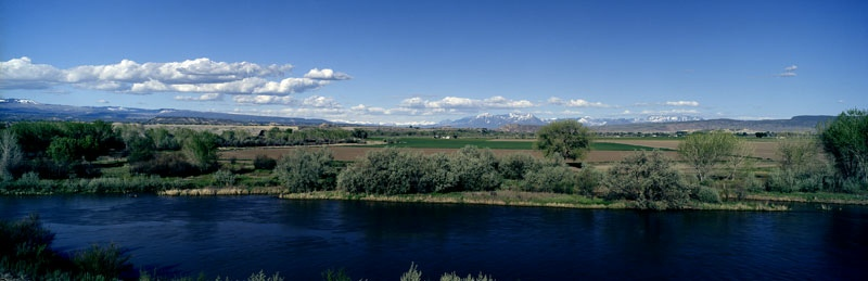 The View from  Alsdorf's on the Gunnison River