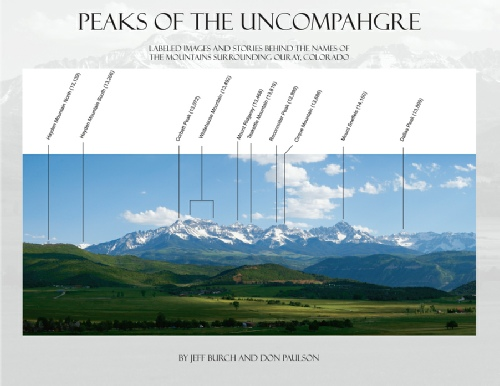 Peaks of the Uncompahgre - soft cover