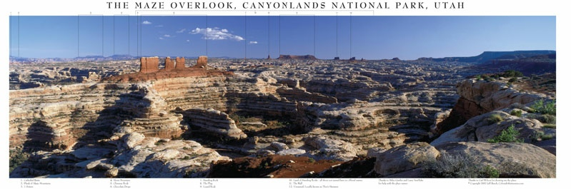 The Maze Overlook, Canyonlands National Park, Utah