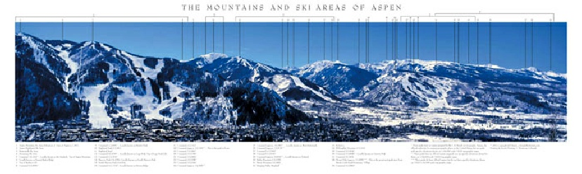 The Mountains and Ski Areas of Aspen
